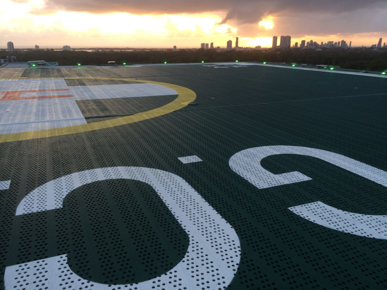 Gold Coast University Hospital Helicopter Landing Pad - FEISTY Study